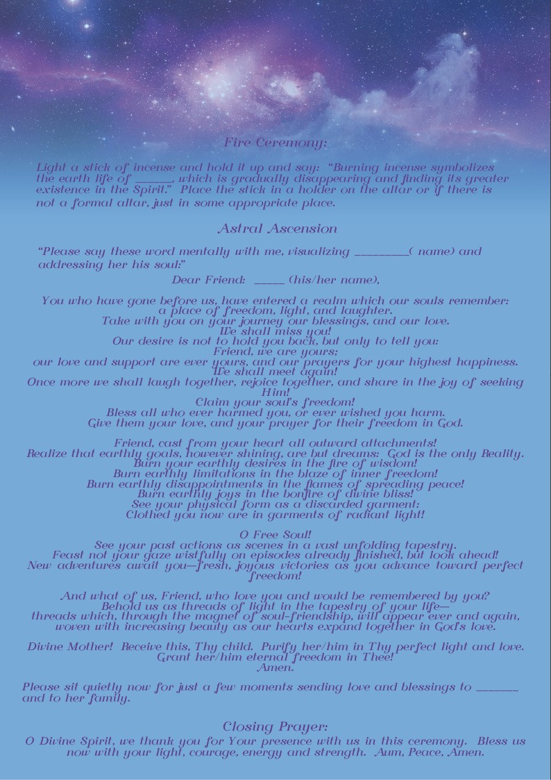 Ananda Sangha Europa Astral Ascension Ceremony – Page 2